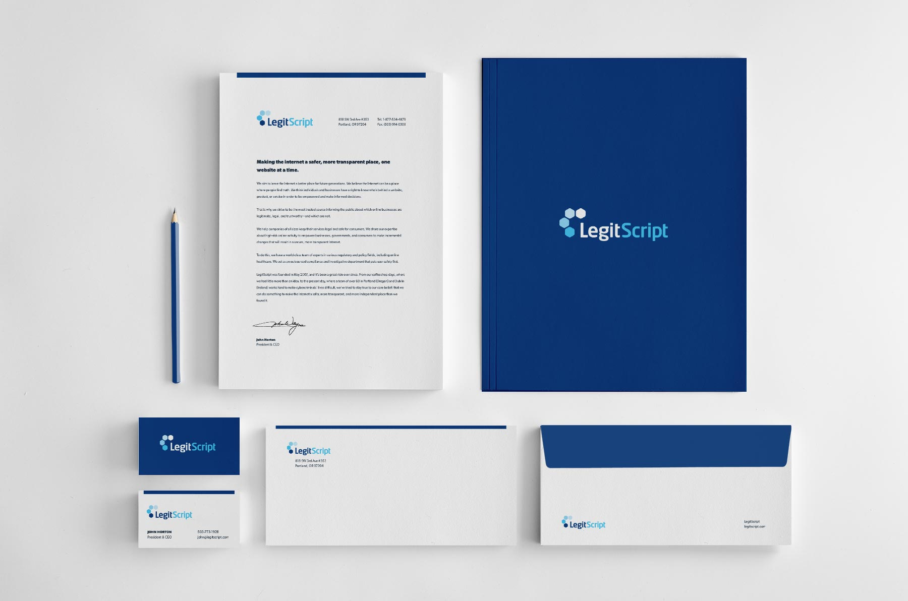 LegitScript brand samples